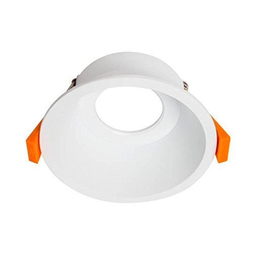 YLD LIGHTING - Foco Empotrable Circular Fijo, Color Blanco
