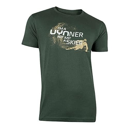 UYN Herren Club Skier T-Shirt, Pine Grove, L