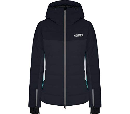 Colmar Damen Courchevel 1850 Ski Jacket Jacke, Blue Black, 46