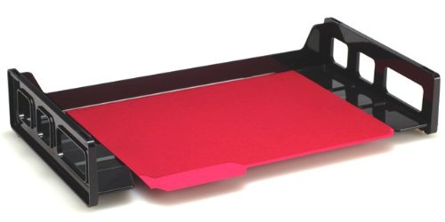 Officemate Stacking Tray, Legal Size, Black, 1 Tray (21102)