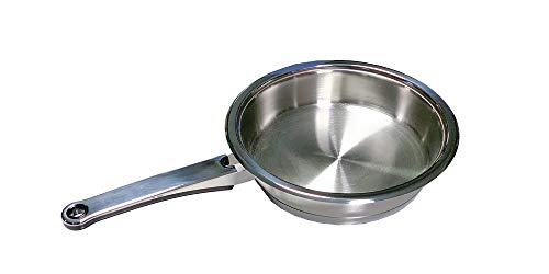 Mondial Casa Induction Frying Pan 18/10 Stainless Steel Ø cm 20