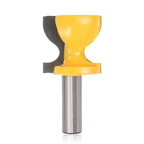 XYXXBB 1/2 Pulgada de Vidrio de Vidrio/heces Moldeado enrutador bit Vinilo de Ventana Puerta Puerta Tirar Borde de Borde cortando la Madera Tambien