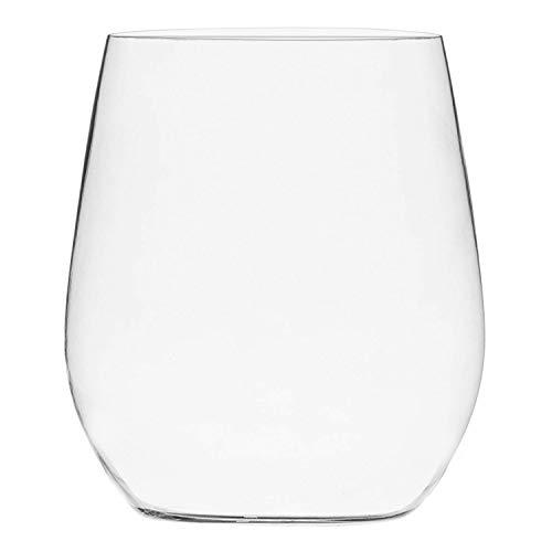 48 Pack Plastic Stemless Wine Glasses...