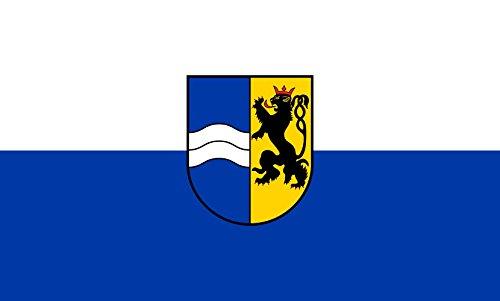 Unbekannt magFlags Tisch-Fahne/Tisch-Flagge: Rhein-Neckar-Kreis (Kreis) 15x25cm inkl. Tisch-Ständer