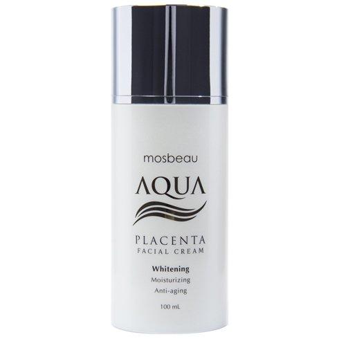 Authentische Mosbeau AQUA Plazenta Gesicht Creme - weiß, feuchtigkeitsspendende & Anti-Aging - neue Formel!