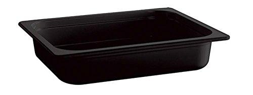 APS GN bac 53 x 32,5 cm, Tiefe: 100 mm mélamine, noir, 10,6 Liter