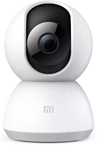 Xiaomi Mi Home Security Camera 360° 1080P, Wireless Surveillance WiFi IP Camera for Indoor Home Security Pet Baby Monitor with HD Night Vision, Pan/Tilt, Two-Way Audio, Motion Detection Remote