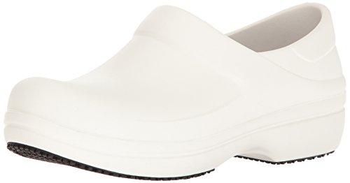 Crocs Neria Pro Clog, Mujer Zueco, Blanco (White), 37-38 EU