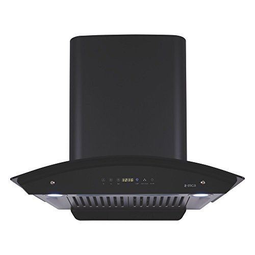 Elica 60 cm 1200 m3/hr Auto Clean Chimney with Free Installation Kit (WD HAC TOUCH BF 60, 2 Baffle...
