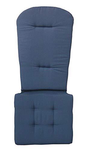 Original Dream-Chairs since 2007 Adirondack Chair Sitzauflage in DREI attraktiven Farben (Blau)