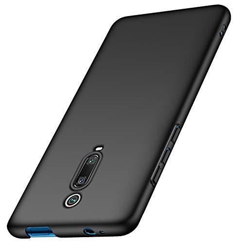Anccer Cover Xiaomi Mi 9T / Xiaomi Mi 9T Pro Cover, [Alta Qualità] [Ultra Slim] Anti-Scratch Hard PC Case Custodia per Xiaomi Mi 9T / Xiaomi Mi 9T Pro (Liscio Nero)
