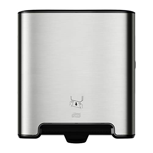 Tork Matic Paper Towel Dispenser H1, 461022, Image Design - Recessed, one-at-a-time Dispensing, Stainless Steel
