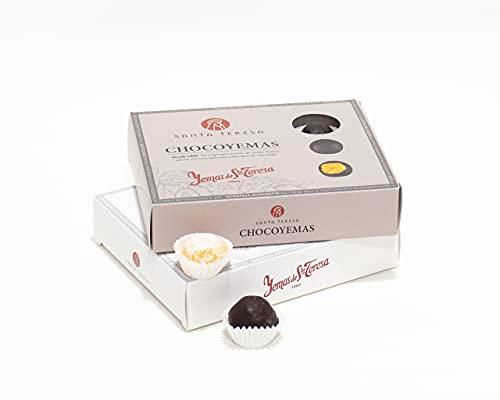 Santa Teresa - Pack Gourmet Contiene 2 Cajas De Yemas De Santa Teresa De Ávila - Dulces Gourmet De Sabor Tradicional Y Chocoyemas- 24 Unidades