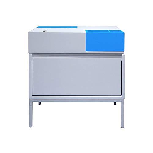 Bedside Cabinet Modern Bedroom Bedside Table Drawer Corner Cabinet Side Cabinet Home Drawer Bedside Cabinet, (Color : D, Size : 45x45x50cm)
