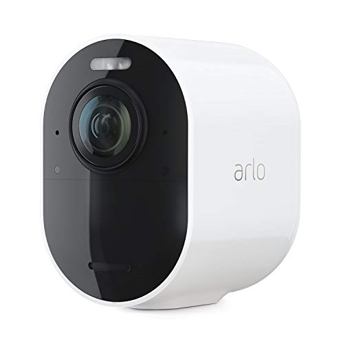 Arlo Ultra 2 Spotlight Add-On Camera | Wire-Free, 4K Video & HDR | Color Night Vision, 2-Way Audio, 6-Month Battery Life, Motion Activated, 180° View | SmartHub Required | White | VMC5040