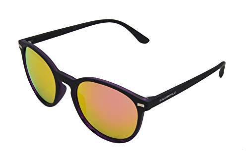 Gamswild Sonnenbrille WM1220 GAMSSTYLE Mode Brille Damen Herren Unisex Softtouch | braun | blau | pink | rot-orange, Farbe: Pink