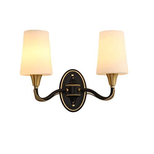 Applique salon chambre TV personnalité murale applique murale décoration salle de bain coiffeuse lampe (Color : A, Size : 46 * 33cm)