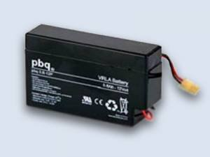 PBQ 0,8-12 - PBQ 0.8-12 - PBQ 0,8-12P - PBQ 0.8-12P VRLA Batteries - 12V 0,8 Ah mit AMP Connector 170923-1