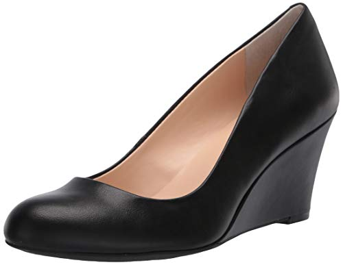 Jessica Simpson Women's Suzanna Pump, Black Sleek,8.5