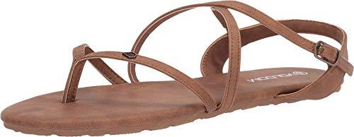 Volcom Damen Strapped In SNDL Sandale, Vintage Brown, 40 EU