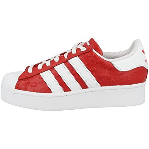 adidas Sneaker da donna Low Superstar Bold, Rosso (Scarlet Core Black Footwear Fz1836), 40 2/3 EU
