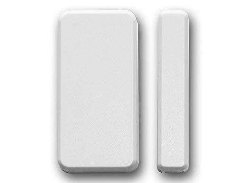OPEXIA OP-DW02 Wireless Magnetic Door/Window Contact Sensor 433 MHz, tür/Fenster magnetik Sensor Kontakt, Wireless 433MHz, (für alle Systeme zum Schutz von Fenstern und Türen)