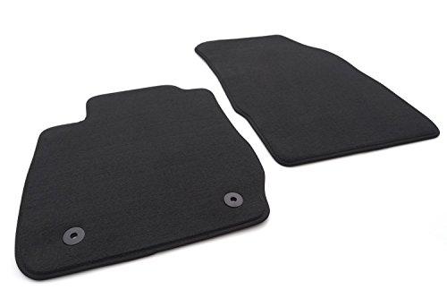 kh Teile Fußmatten Fiesta VI 6 Velours Automatten Original Qualität 2-teilig schwarz