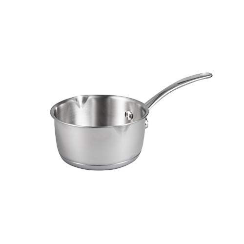 Product Image 8: IMEEA 1/2-Quart Saucepan Butter Warmer 18/10 Tri-Ply Stainless Steel Butter Melting Pot with Dual Pour Spouts