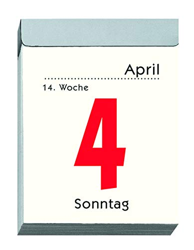 Zettler Kalender Tagesabreißkalender 5,5x7cm 1T/1S