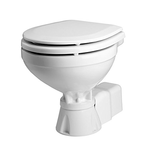 Johnson Pumps 80-47231-01 AquaT Compact Silent Electric Marine Toilet, 12V
