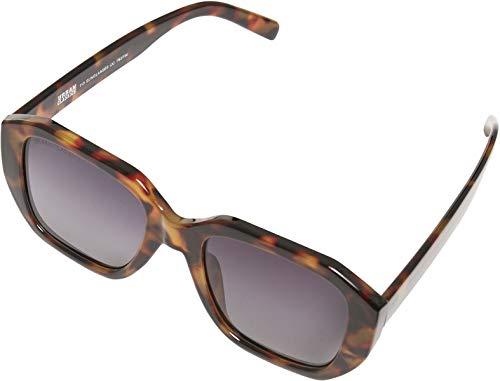 Urban Classics Unisex 113 Sunglasses UC Sonnenbrille, Brown Leo/Black, one Size