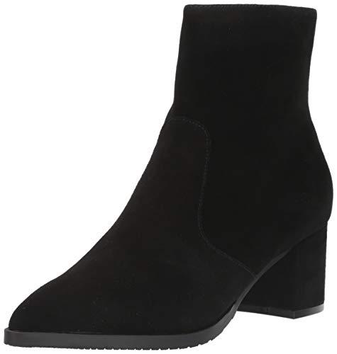 Blondo Women's Twiggy Waterproof Fashion Boot, Black Suede, 8 M US
