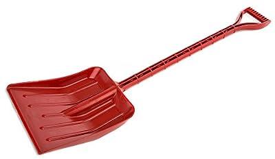 """Garant Kids Poly Snow Shovel 0-3/8"""" Plastic - Red"""
