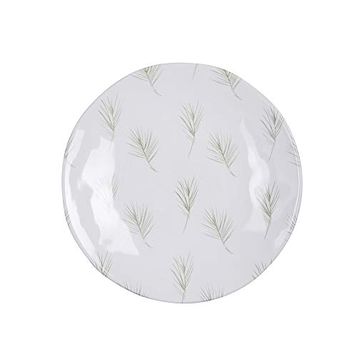 Table Passion - assiette à dessert hawai vert 23 cm (lot de 6)