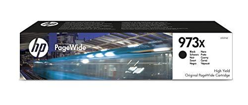 HP 973X L0S07AE, Negro, Cartucho de Tinta de Alta Capacidad PageWide Original, de 10.000 páginas, compatible con impresoras de inyección de tinta HP PageWide Pro 452dn, 452dw, 452dwt y MFP 477dw