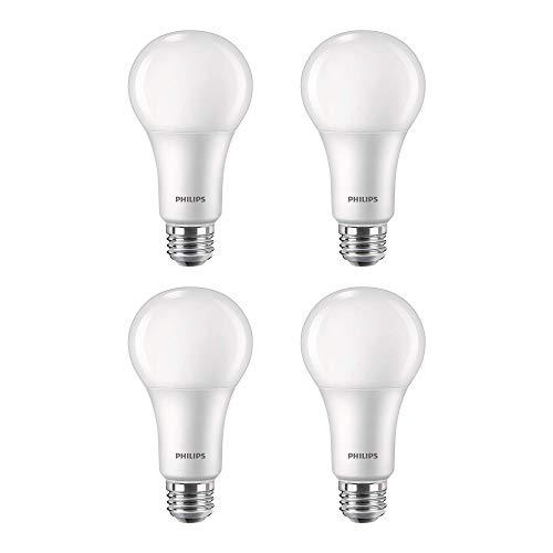 Philips LED 3-Way Flicker-Free A21 Bulb, EyeComfort Technology,...