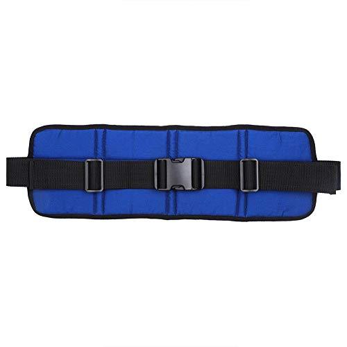 Atmungsaktiver verstellbarer Sicherheitsgurt für Rollstühle, Sicherheitsgurte für Rollstühle, rutschfester Sitz für Rollstühle, Sicherheitsgurte für Rollstühle, Sicherheitsgurte für (Blau)