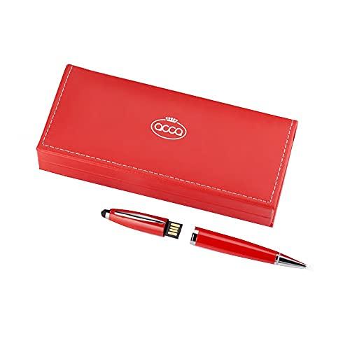 Caja estuche rojo lápiz memoria USB 8 GB regalo graduación PEN.USB R