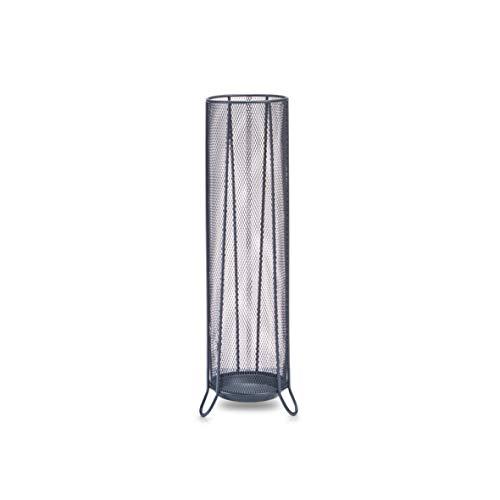 Zeller 17744 Porte-parapluie en grille anthracite, 14 x 53 cm