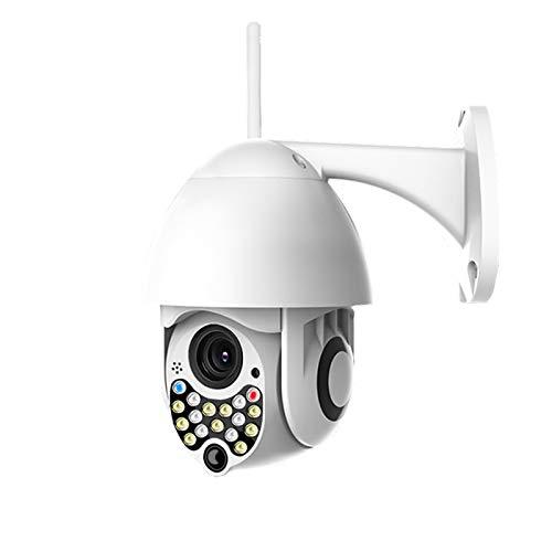 N \ A Cámara de Seguridad para Exteriores, con detección de Movimiento, Acceso Remoto, visión Nocturna, Funciones de Audio bidireccionales, cámara Impermeable de vigilancia WiFi inalámbrica 1080P