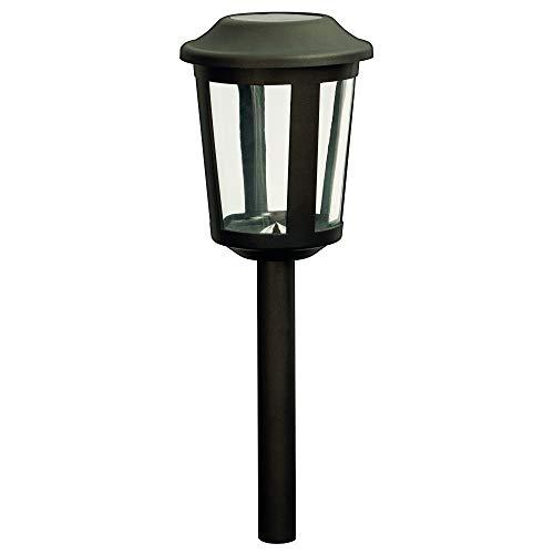 Duracell GL018BT6DU Garten-Solarleuchte LED Gartenleuchte Wegeleuchte Kunststoff anthrazit lackiert 5 Lumen