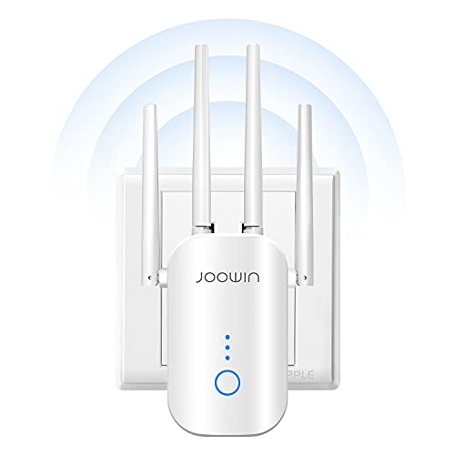 WiFi Extenders Signal Booster for Home, WiFi Extender 1200Mbps, Covers Up to 3300...