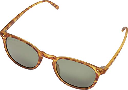 Urban Classics Unisex Sunglasses Arthur UC Sonnenbrille, Brown Leo/Green, one Size