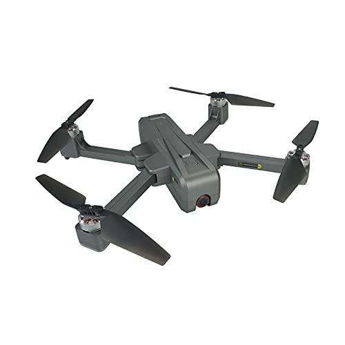 SuRose Drone, Quadcopter para Adultos y Expertos, GPS Return Home, Drone Plegable, Drone WiFi 5G con cámara 4K, Posicionamiento de Flujo óptico, Versión de batería Dual