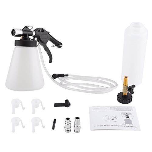 Kit de cambio de líquido de purga de purga de frenos de coche, herramienta de vacío de garaje neumática de aire, accesorios de coche, herramientas de coche