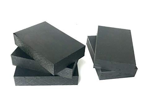 Unterleger Terrrassenbau 140x90mm Stärke 30mm PE Terrassenpads Terrassenunterleger Terrassenfuß Unterkonstruktion (40)
