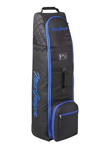 MacGregor Golf MACTC003SD MACTEC Deluxe Golf-Reisetasche mit Rädern, Schwarz/Blau