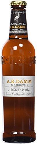 A.K. Damm Cerveza - Botella de 330 ml (1 unidad)