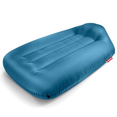 Fatboy® Lamzac L 3.0 Sky Blue | Aufblasbares Sofa/Liege, Sitzsack mit Luft gefüllt | Outdoor geeignet | 190 x 105 x 45 cm