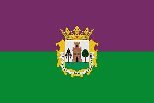 magFlags Bandera XL Plasencia | Municipio de Plasencia Cáceres-España | Bandera Paisaje | 2.16m² | 120x180cm